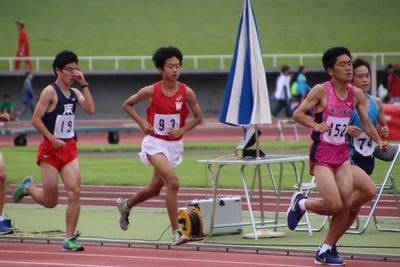 男子5000m 岡島 瑛斗(1)